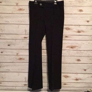 BANANA REPUBLIC TROUSER 323 MARTIN FIT BLACK PANTS
